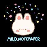Mild.notepaper